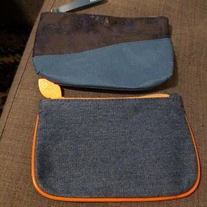 Two Blue Ipsy Glam Bags never used